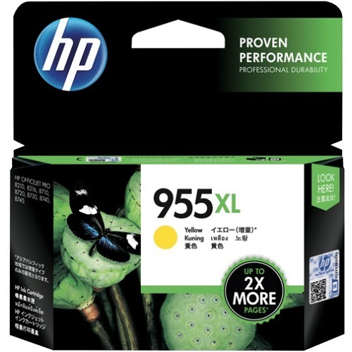 HP 955XL Yellow High Yield (L0S69AA) (Genuine) title=