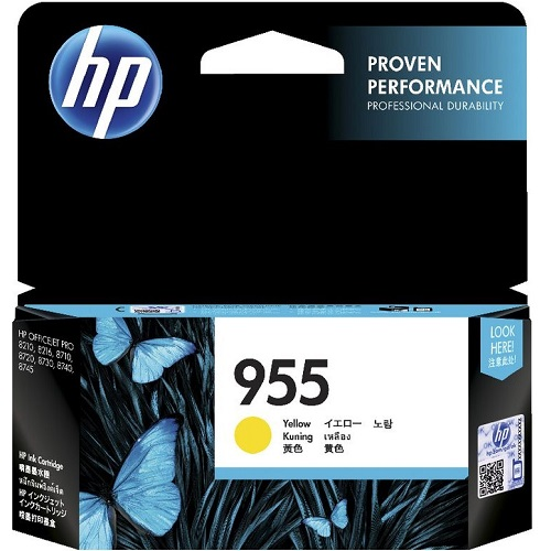 HP 955 Yellow (L0S57AA) (Genuine) title=