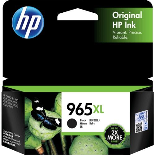 HP 965XL Black High Yield (3JA84AA) (Genuine) title=