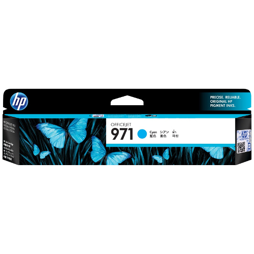 HP 971 Cyan (CN622AA) (Genuine) title=