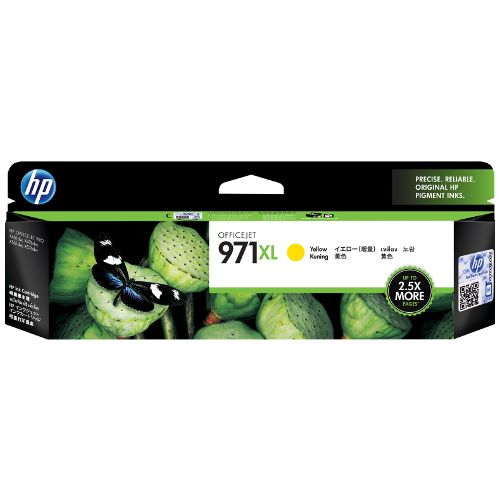 HP 971XL Yellow High Yield (CN628AA) (Genuine) title=