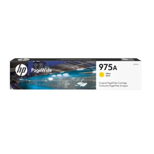 HP 975A Yellow (L0R94AA) (Genuine) title=