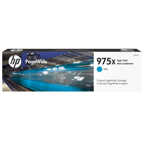 HP 975X Cyan High Yield (L0S00AA) (Genuine) title=