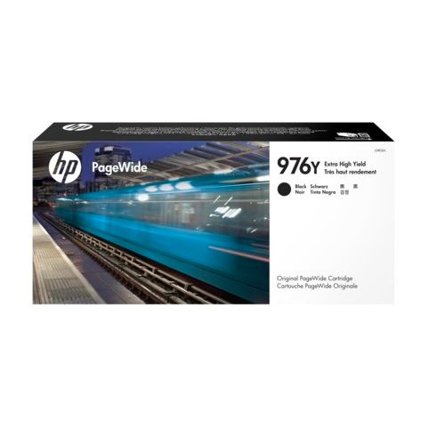 HP 976Y Black Extra High Yield Ink Cartridge (L0R08A) (Genuine) title=