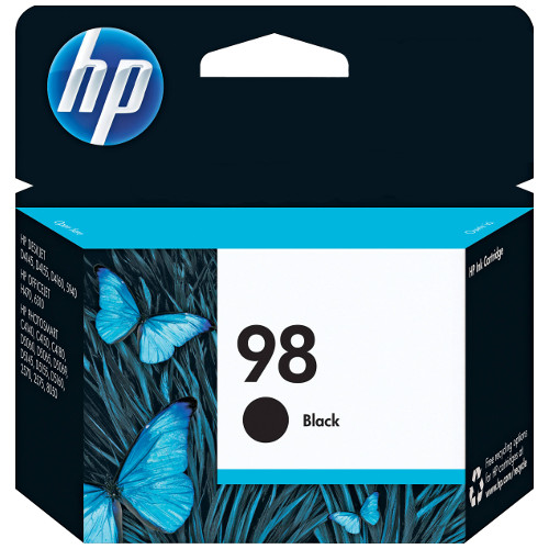 HP 98 Black (C9364WA) (Genuine) title=
