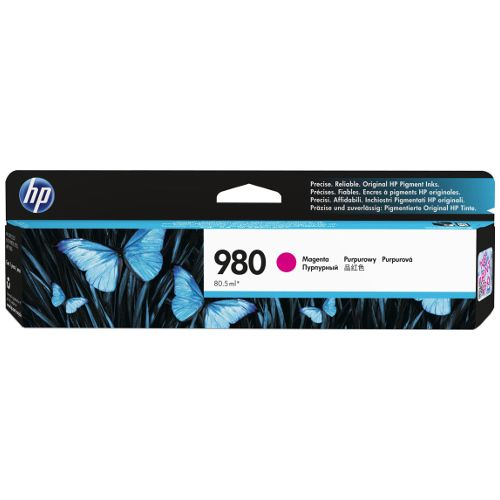 HP 980 Magenta (D8J08A) (Genuine) title=