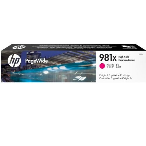 HP 981X Magenta High Yield (L0R10A) (Genuine) title=