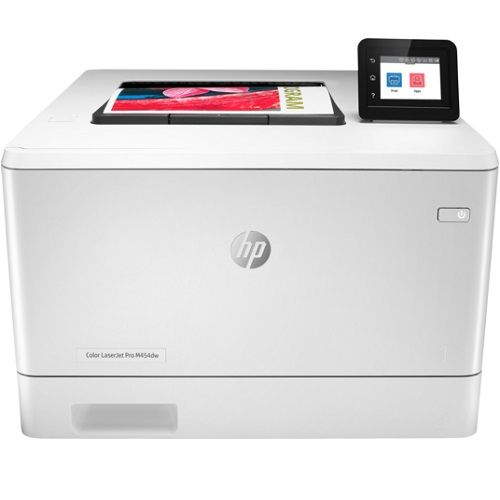 DISCONTINUED - HP Color LaserJet Pro M454nw Colour Laser Wireless Printer title=