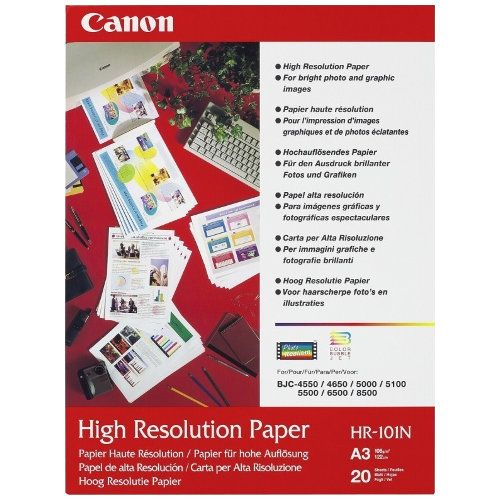 Canon HR-101NA3 A3 High Resolution Paper title=