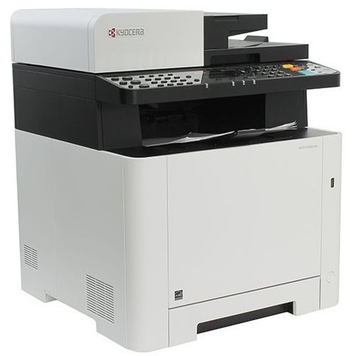 Kyocera Ecosys M5521cdn Multifunction Colour Laser Printer + Duplex title=