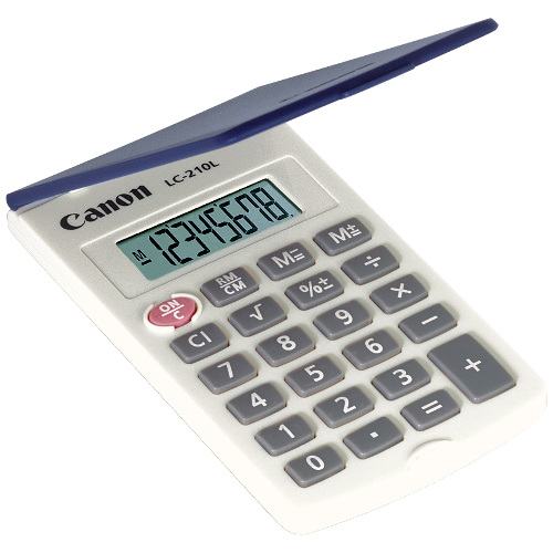 Canon LC-210L Calculator title=
