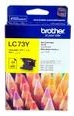 Brother LC73Y Yellow Ink Cartridge Genuine