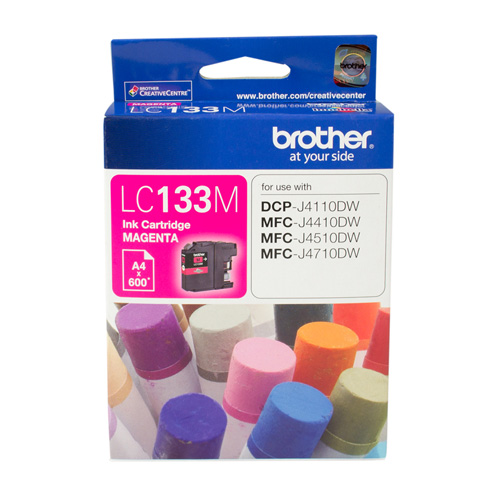 Brother LC133M Magenta (Genuine) title=