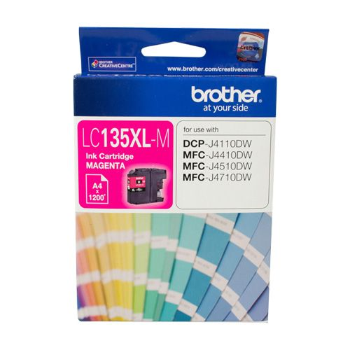Brother LC135XL-M Magenta High Yield (Genuine)