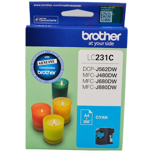 Brother LC231 Cyan (Genuine) title=