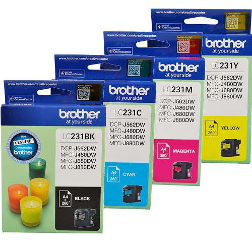 Brother LC231 8 Pack Bundle (Genuine) title=