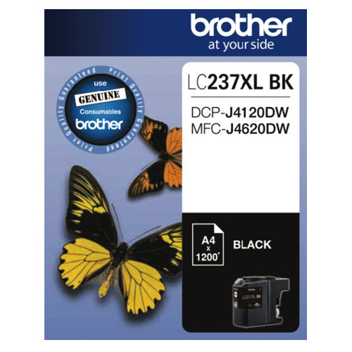 Brother LC237XL BK Black High Yield (Genuine) title=