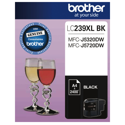 Brother LC239XL BK Black (Genuine) title=