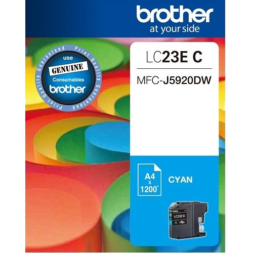Brother LC23EC Cyan (Genuine) title=