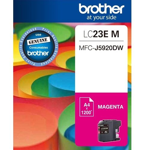 Brother LC23EM Magenta (Genuine) title=
