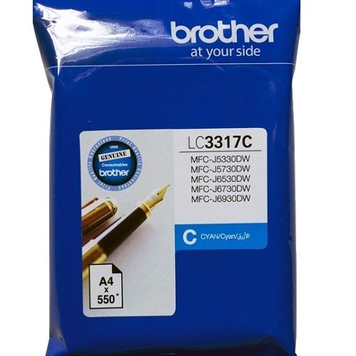 Brother LC3317C Cyan (Genuine) title=