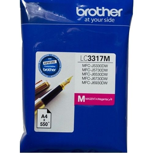 Brother LC3317M Magenta (Genuine) title=