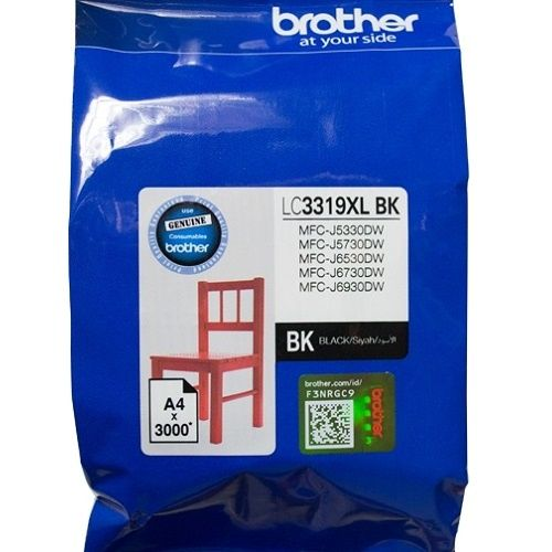 Brother LC3319XLBK Black High Yield (Genuine) title=