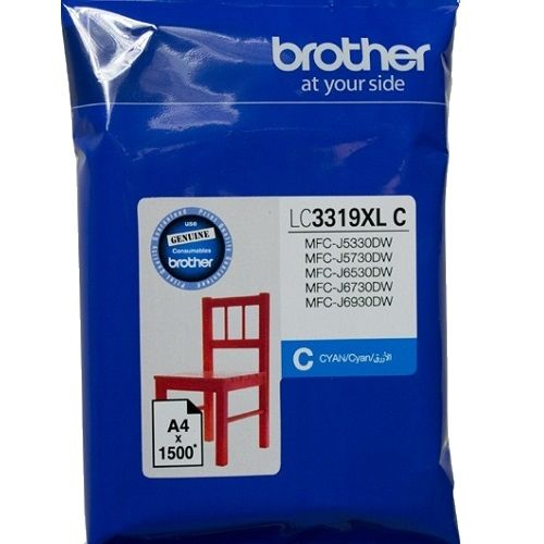 Brother LC3319XLC Cyan High Yield (Genuine) title=