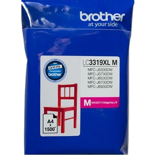 Brother LC3319XLM Magenta High Yield (Genuine) title=