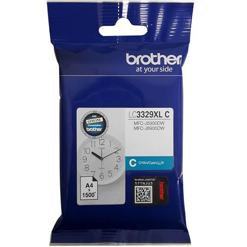 Brother LC3329XL C Cyan High Yield (Genuine) title=