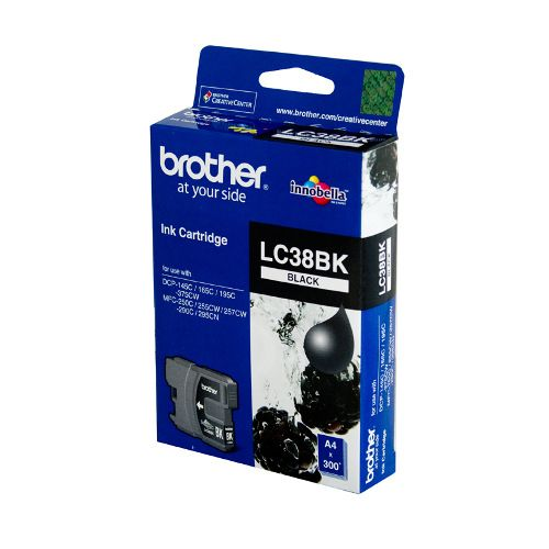 Brother LC38BK Black (Genuine) title=