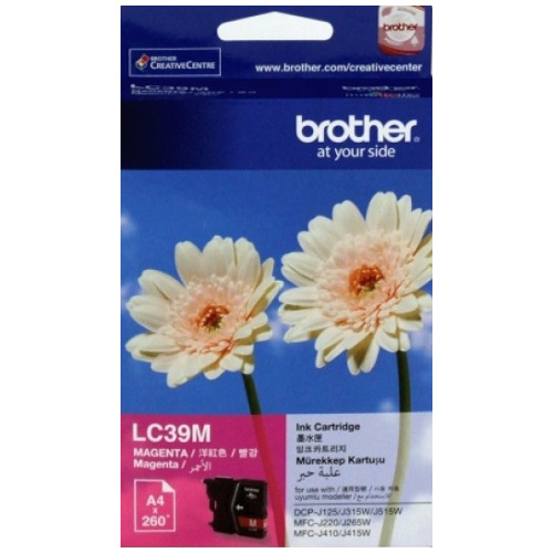 Brother LC39M Magenta (Genuine) title=