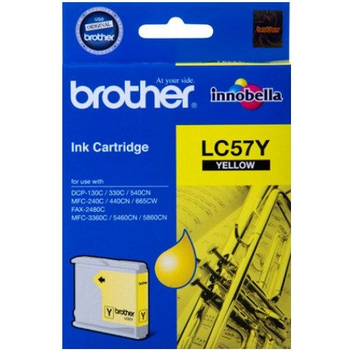 Brother LC57Y Yellow (Genuine) title=