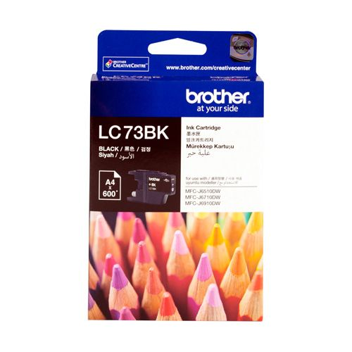 Brother LC73BK Black High Yield (Genuine) title=