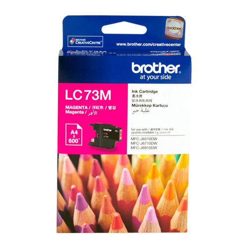 Brother LC73M Magenta High Yield (Genuine) title=