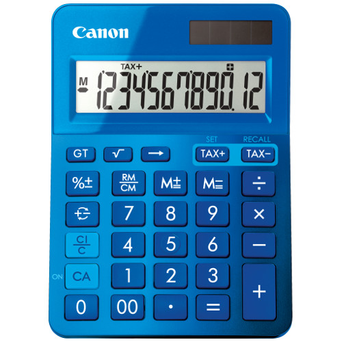 Canon LS-123 MBL Calculator title=