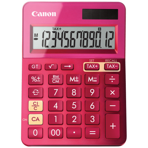 Canon LS-123 MPK Calculator title=