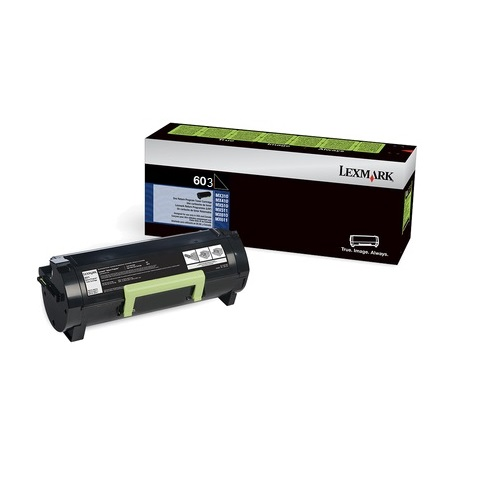 New Lexmark 603 Black Return Toner Printer Cartridge