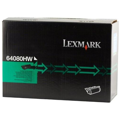 Lexmark 64080HW Black High Yield (Genuine) title=