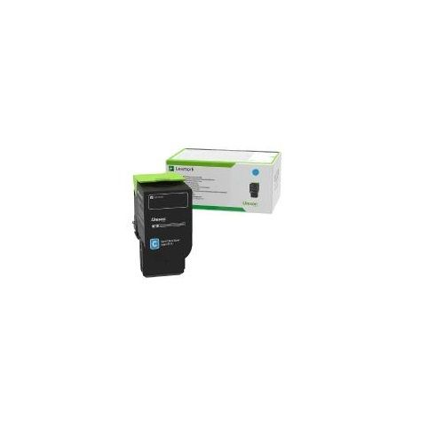 Lexmark 78C6XCE Cyan Extra High Yield (Genuine) title=
