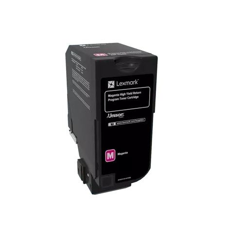 Lexmark 84C6HM0 Magenta High Yield (Genuine) title=