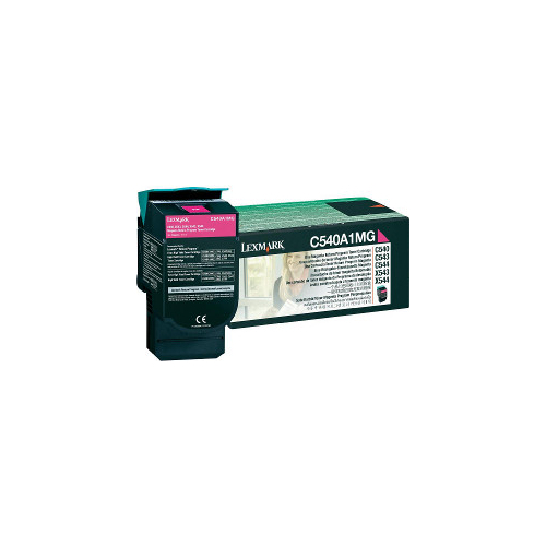 Lexmark C540A1MG Magenta Prebate (Genuine) title=