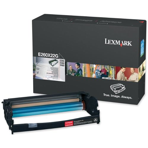 Lexmark E260X22G Photoconductor Unit title=