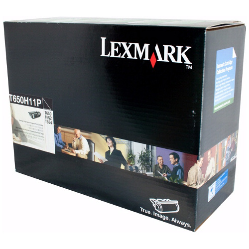 Lexmark T650H11P Black High Yield Prebate (Genuine) title=