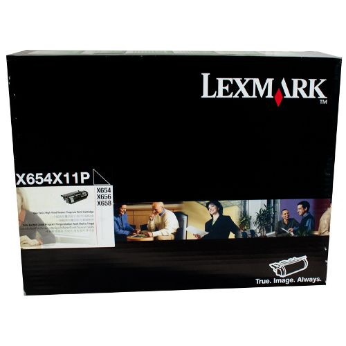 Lexmark T654X11P Black Extra High Yield Prebate (Genuine) title=