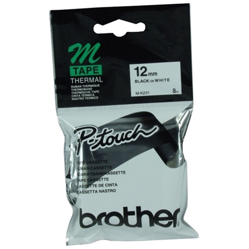 Brother M-K231 Black on White (Genuine) title=