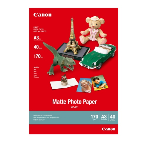 Canon MP-101A3 White A3 Specialty Paper title=