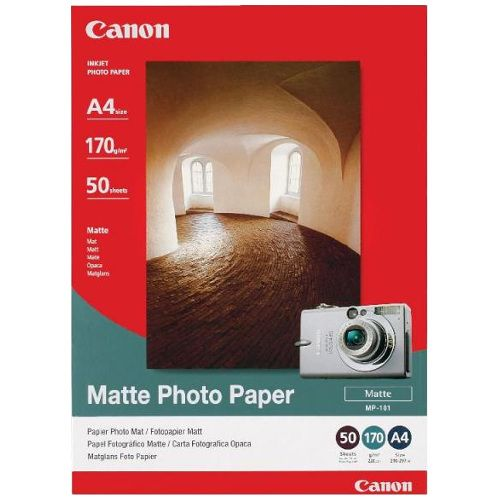 Canon MP-101A4 A4 Matte Photo Paper title=
