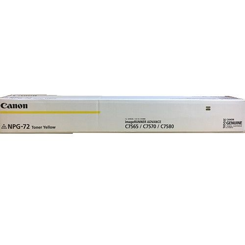 Canon NPG-72 Yellow (TG-72) (Genuine) title=