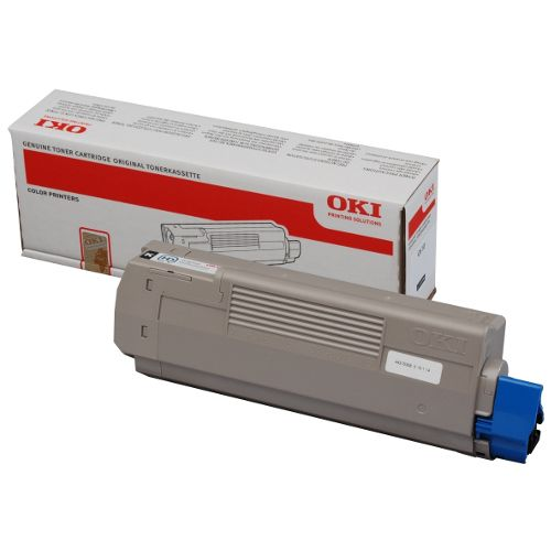 Oki 44059240 Black Toner Cartridge Genuine